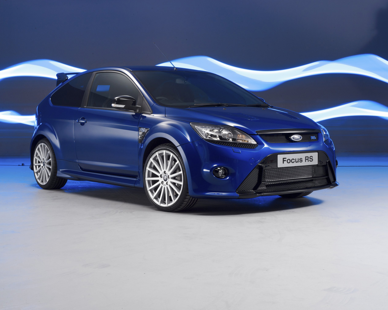2009 ford focus rs blue photo gallery autoblog. Black Bedroom Furniture Sets. Home Design Ideas