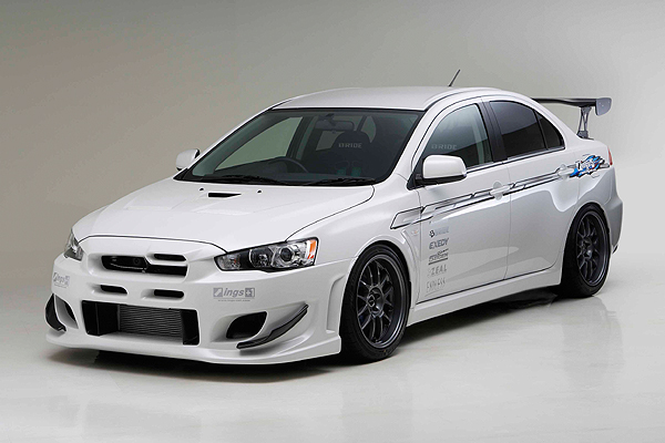 Mitsubishi Lancer Evo X Modified