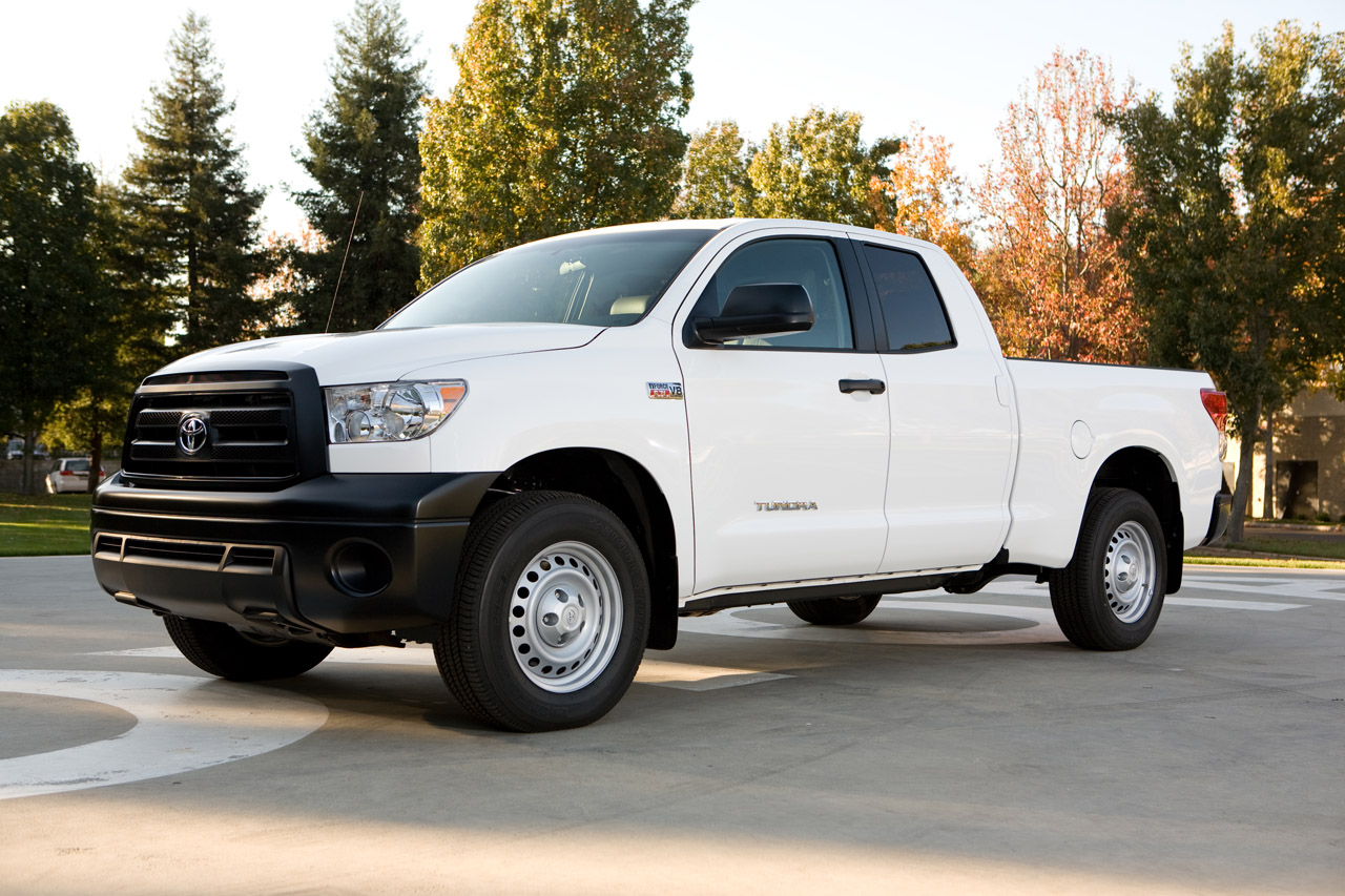 toyota tundra work truck package photo gallery autoblog. Black Bedroom Furniture Sets. Home Design Ideas
