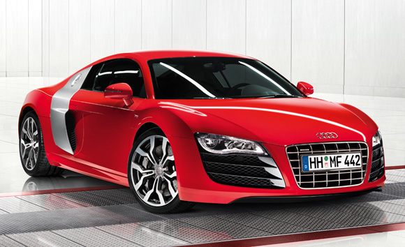 New Luxury AUDI R8 V10 Pictures