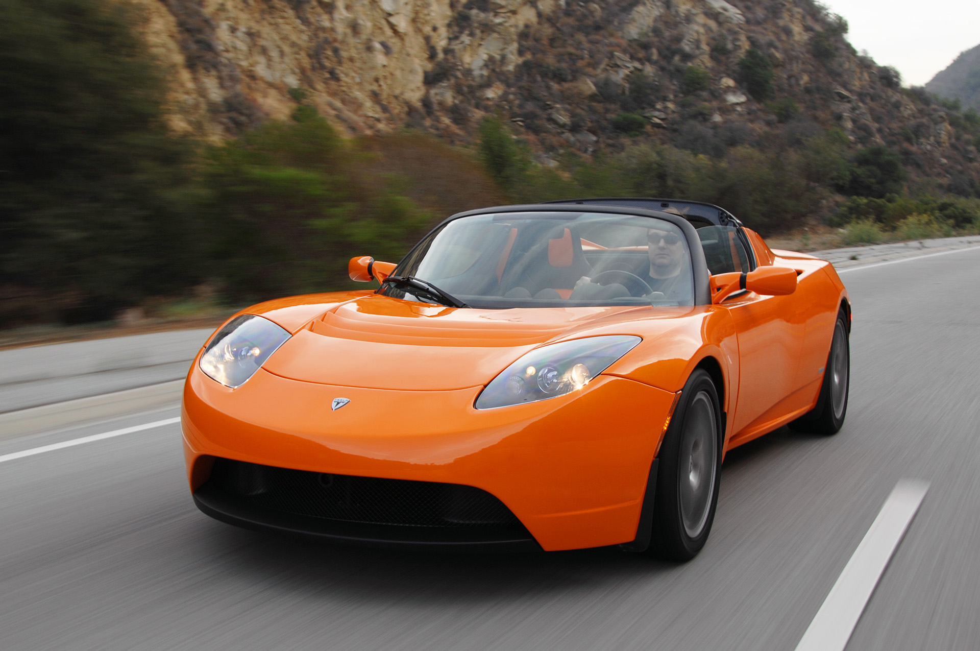 car wale wallpapers: 2009 tesla roadster images and specifications