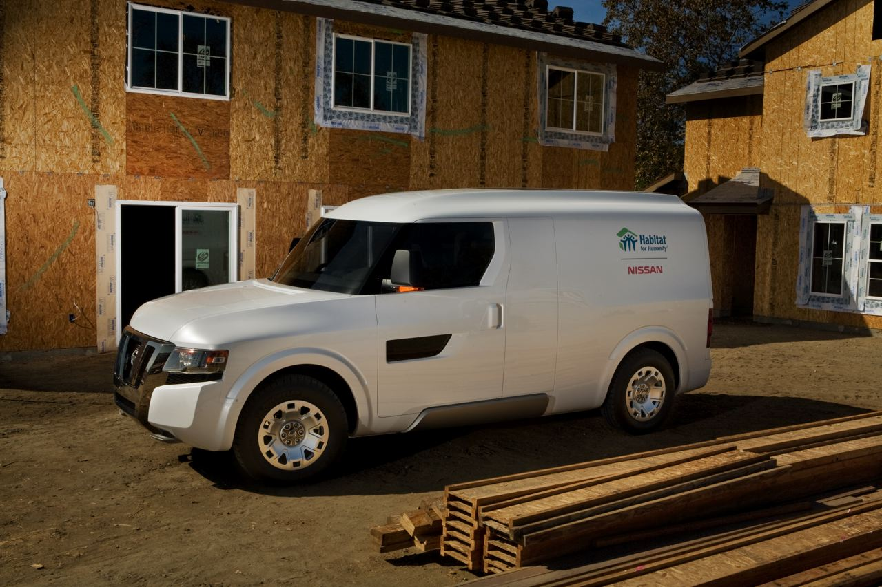 Nissan nv250 concept nissan 39 s preview of it 39 s upcoming - Commercial van interiors locations ...