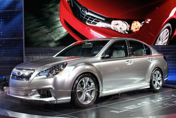 Click above for high-res image gallery of the Subaru Legacy Concept
