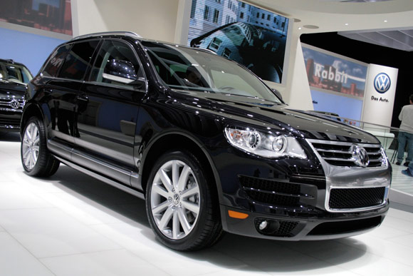 VW Touareg Lux Limited