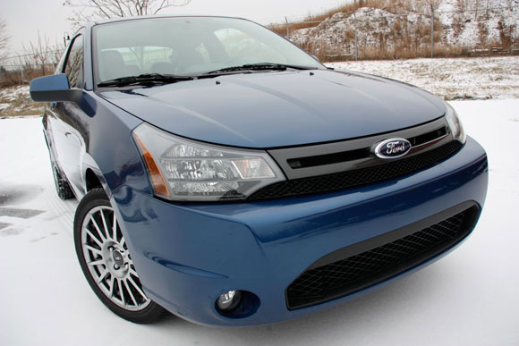 Review 2009 Ford Focus SES Coupe  Autoblog