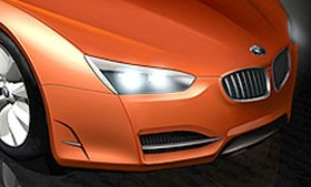 BMW Z10 rendering nose crop