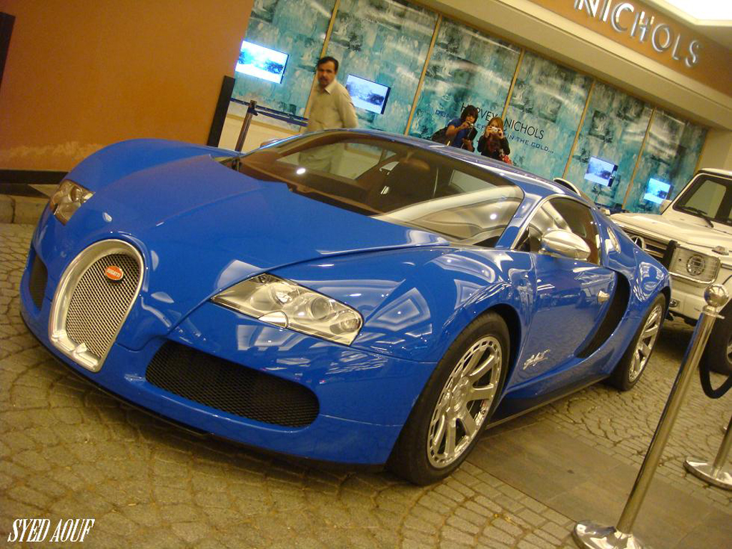 All Bugatti Veyrons are