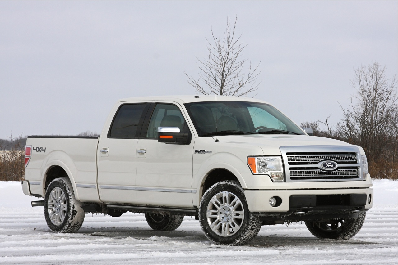 review 2009 ford f 150 platinum 4x4 autoblog autos weblog. Black Bedroom Furniture Sets. Home Design Ideas