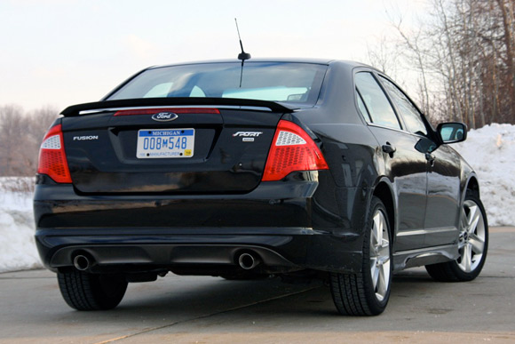 Review 2010 Ford Fusion Sport  Autoblog