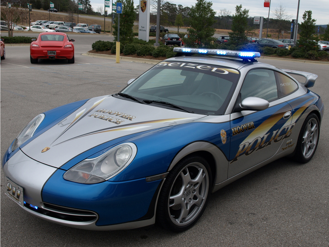 Seized Porsche 911 Now A Cop Car Nissan Datsun Zcar