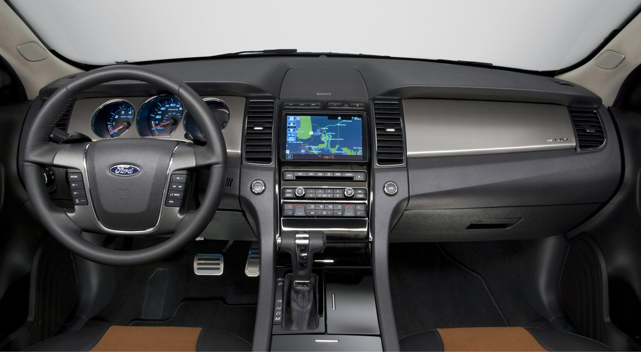 2010 Ford Taurus Sho Officially Revealed