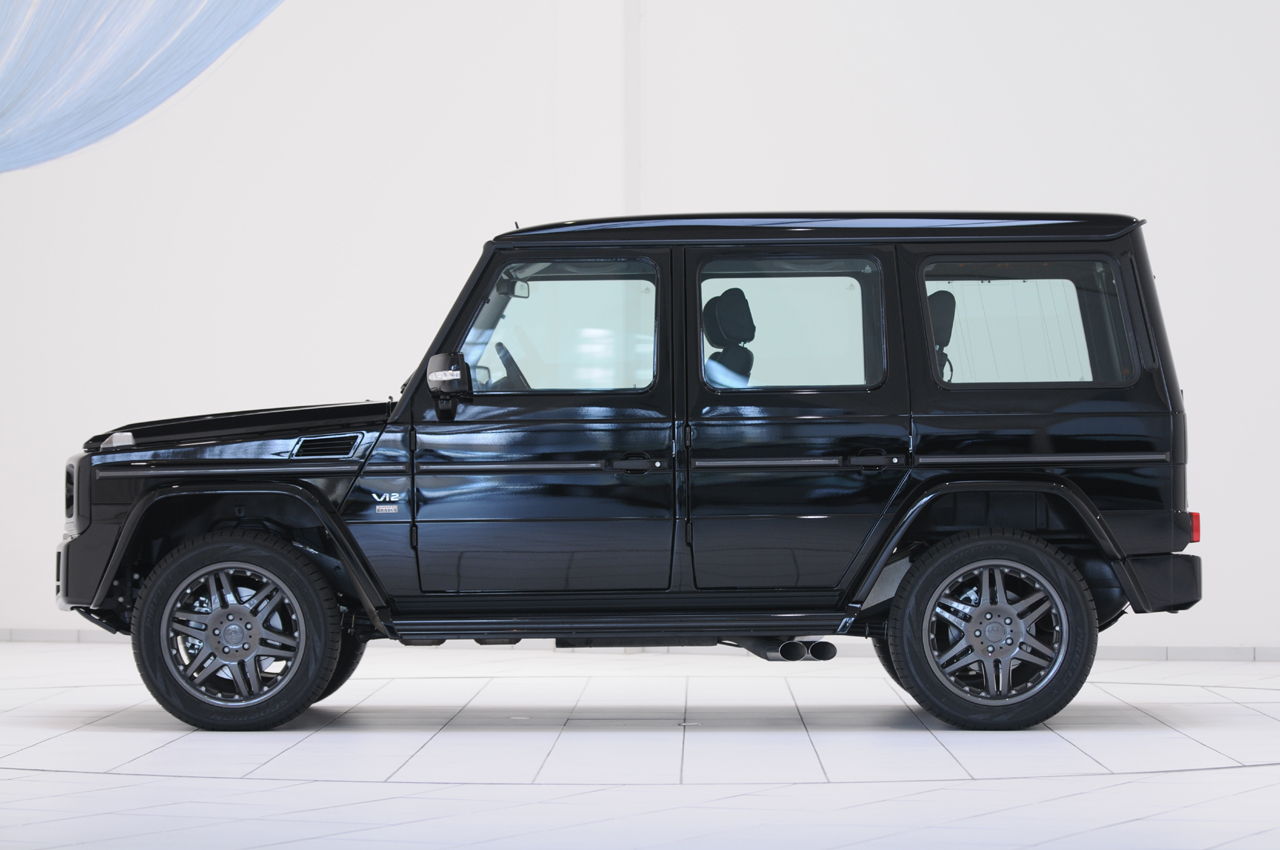 Mercedes benz to shoehorn twin turbo v12 into the g wagen for Mercedes benz g class brabus