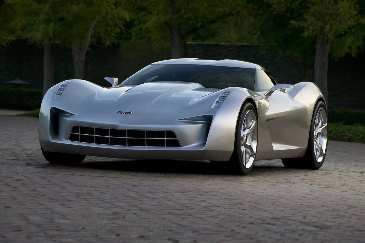 Chicago 2009 Chevrolet Corvette Stingray Concept Photo Gallery Autoblog