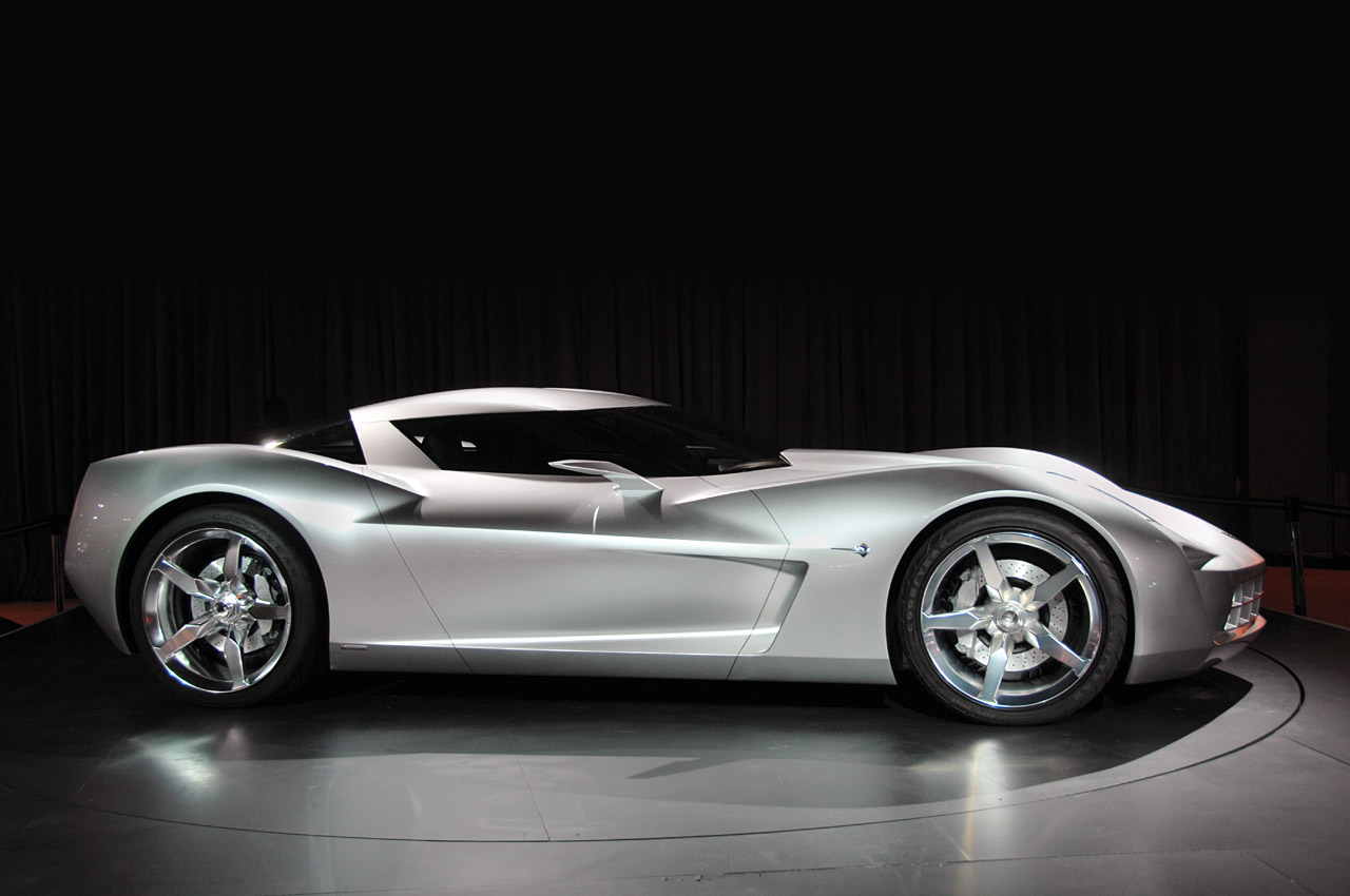 Chicago 2009 Corvette Stingray Concept Live Photo Gallery