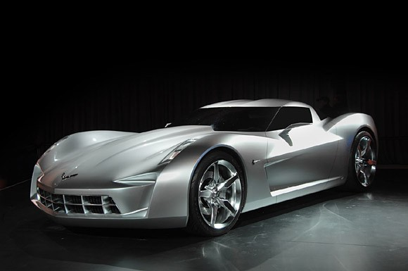 Corvette Centennial Concept  Revealed at Chicago Auto Show  2009
