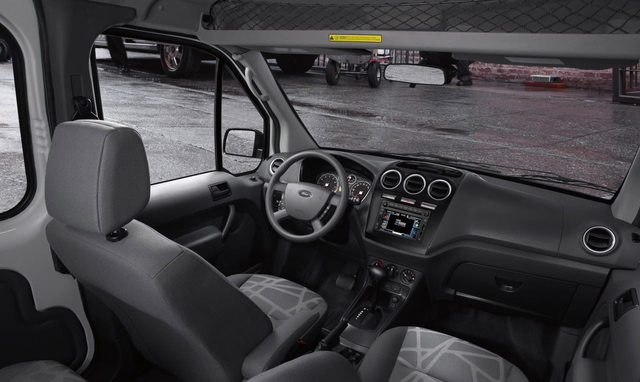 Re 2010 ford transit connect revealed