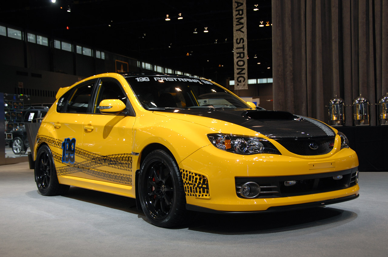 chicago 2009 subaru travis pastrana impreza wrx sti photo gallery autoblog. Black Bedroom Furniture Sets. Home Design Ideas