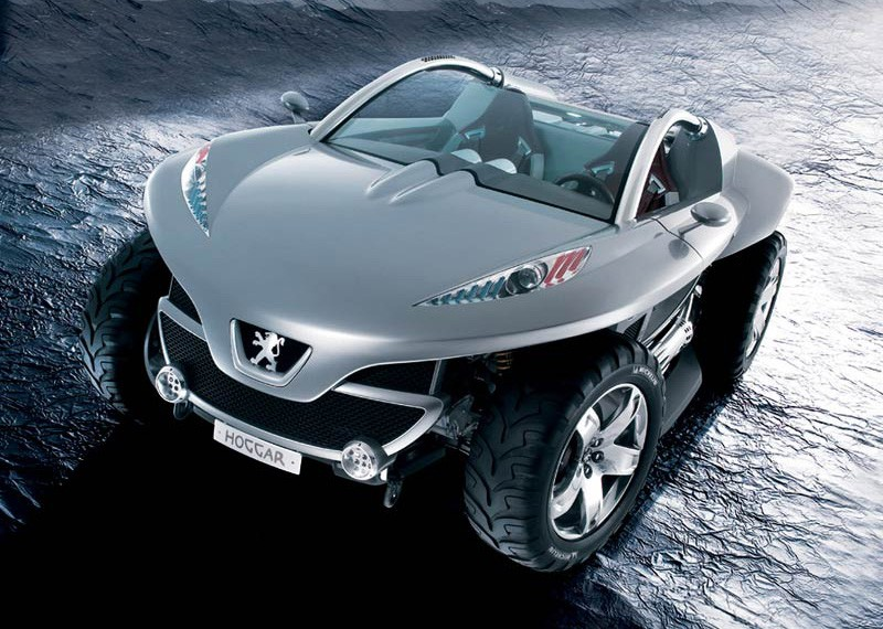 Peugeot Hoggar Concept Concept Cars Drive Away 2day