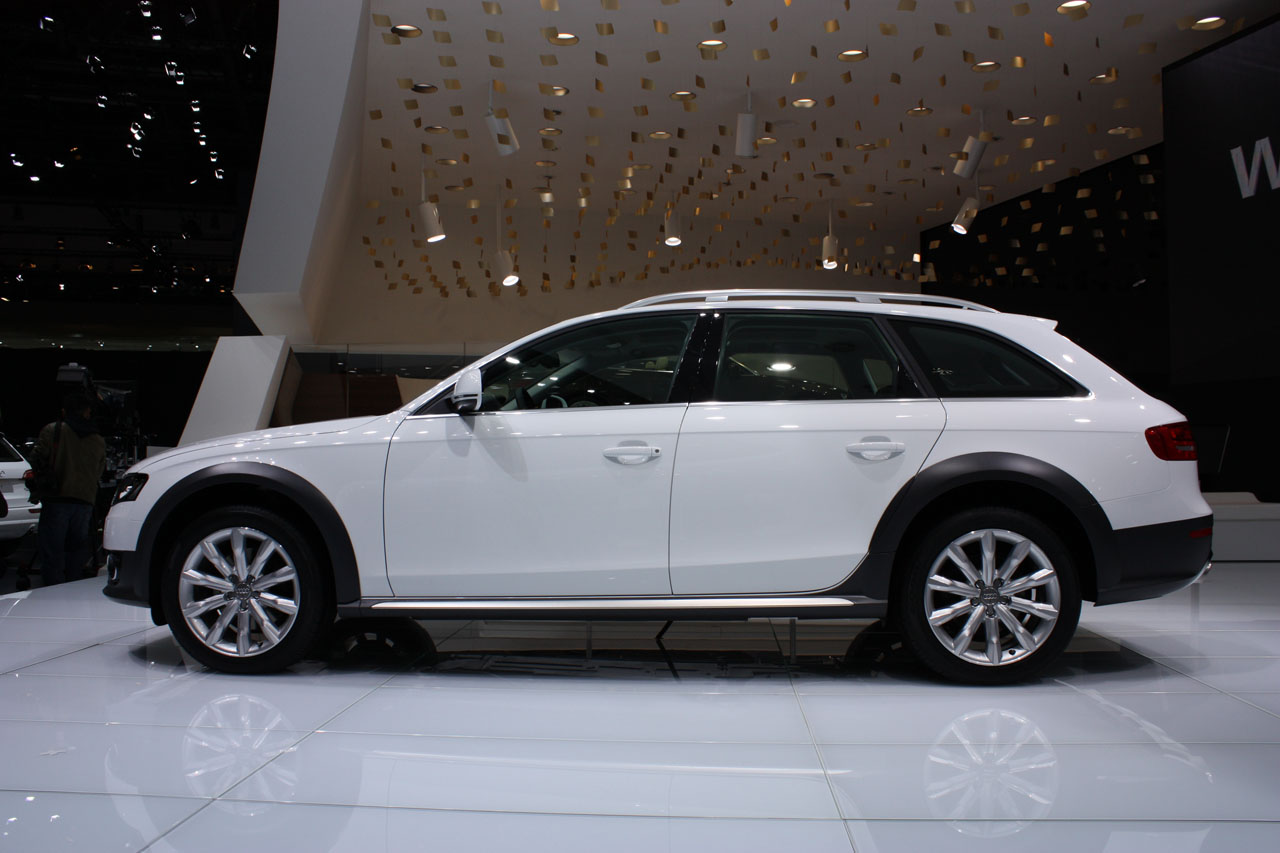 Geneva 2009 2010 Audi A4 Allroad Photo Gallery Autoblog