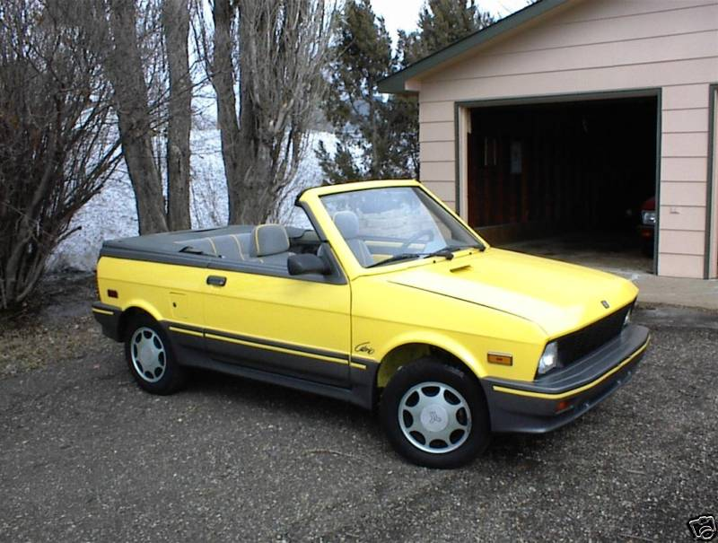Ebay Find Of The Day 1990 Yugo Convertible Photo Gallery