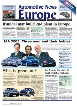 Automotive News Europe - Crain Publishing