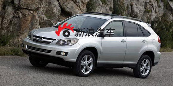 RX for Success or lawsuit China 39 s BYD gets its Lexus tribute on