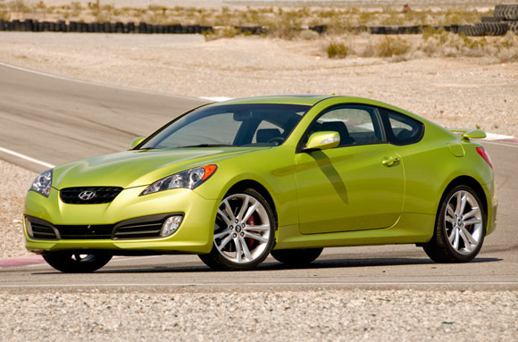 2010 Hyundai Genesis Coupe Cool pictures