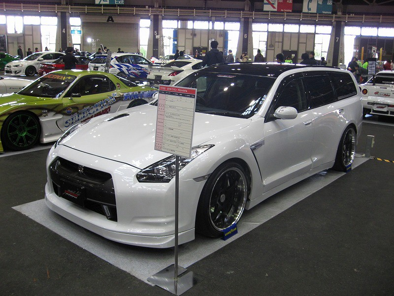 R35 Gt R Wagon Spotted