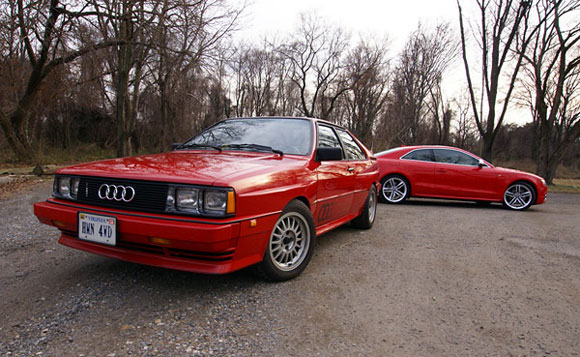 Retro Comparo: Fourtitude puts S5 against Ur-Quattro