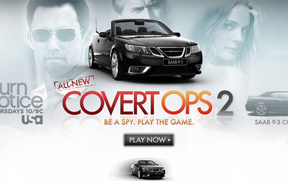 REPORT: Saab, USA snag 500,000 players with Burn Notice online game