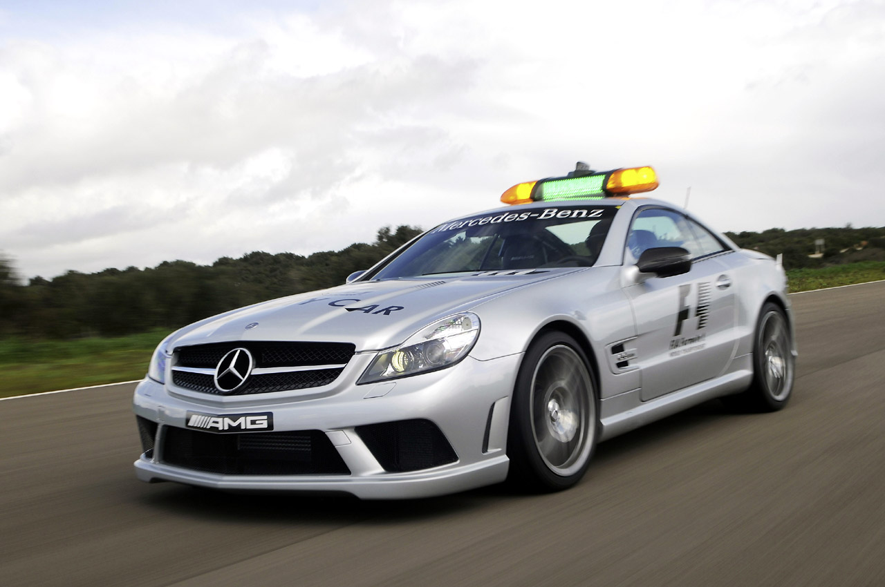 2009 mercedes benz sl63 amg f1 safety car photo gallery for Mercedes benz f1