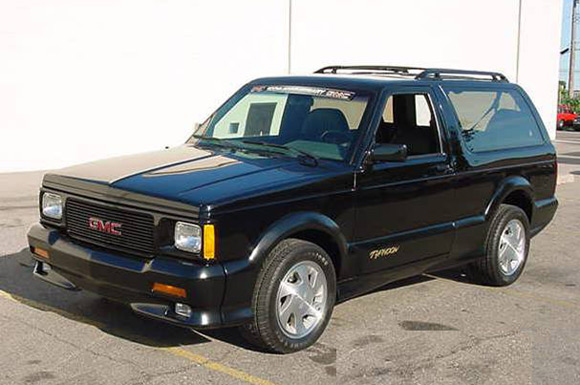 Gmc Typhoon The final 1993 gmc typhoon