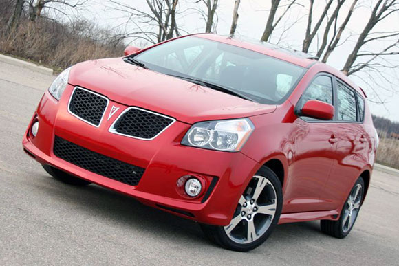 Pontiac Vibe to be replaced with another shared Toyota model?