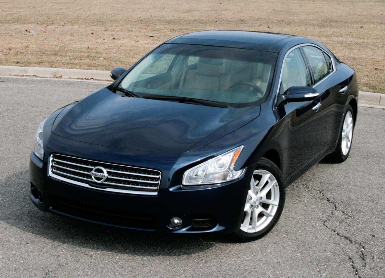 Review 2009 Nissan Maxima Photo Gallery Autoblog
