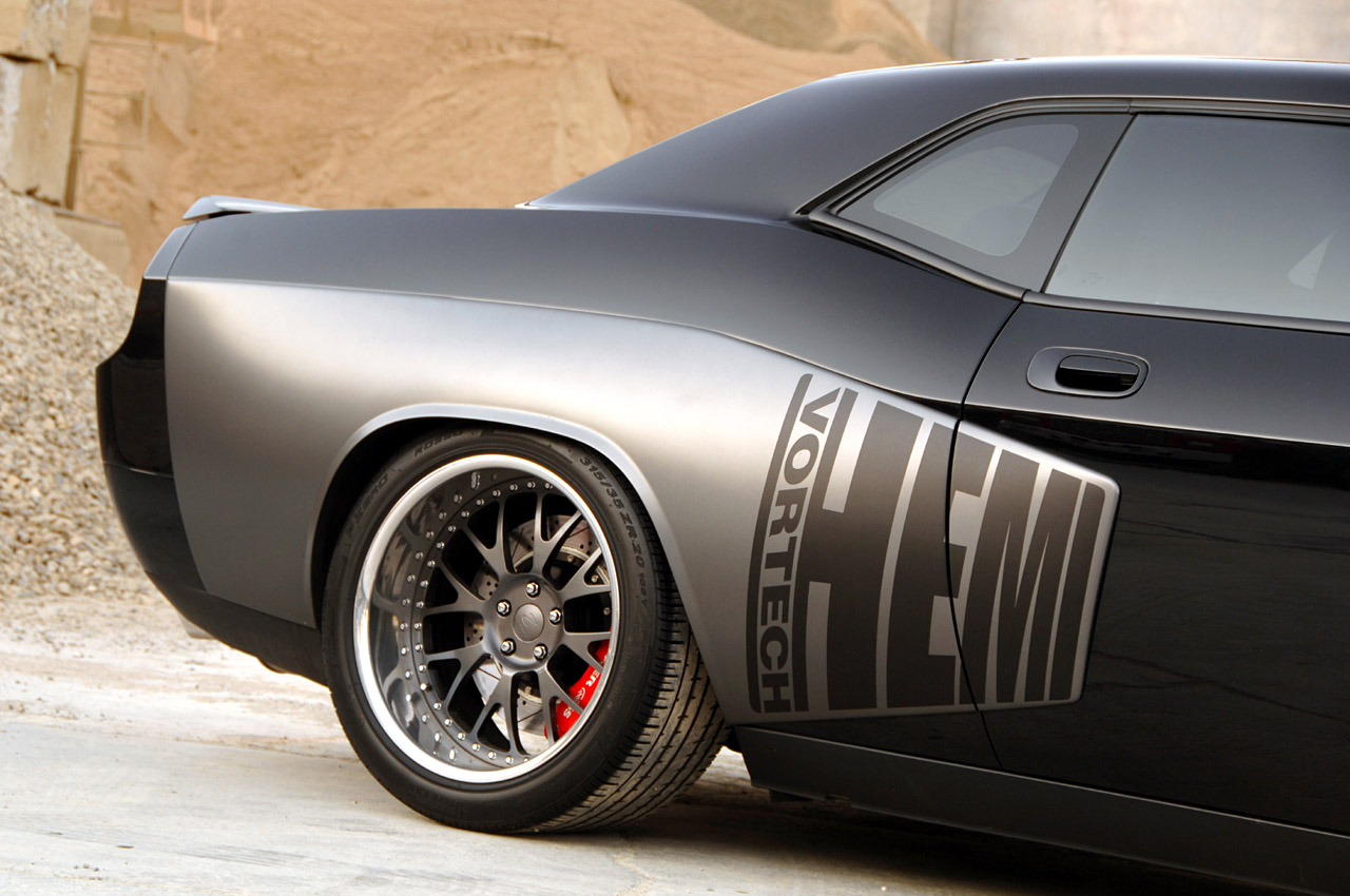 Classic Design Concepts Group 2 Widebody Challenger ...