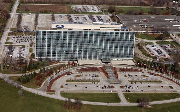 ford-hq-aerial-platt-getty-580 Ford to save $1.2M/year just by turning off its computers at night