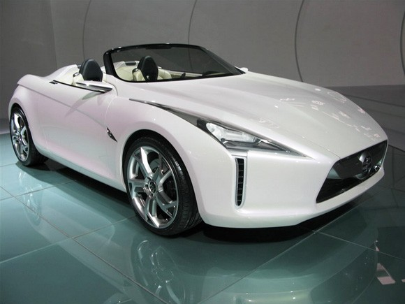 Shanghai 2009 Guangzhou Honda Linian Roadster Concept Is Messing
