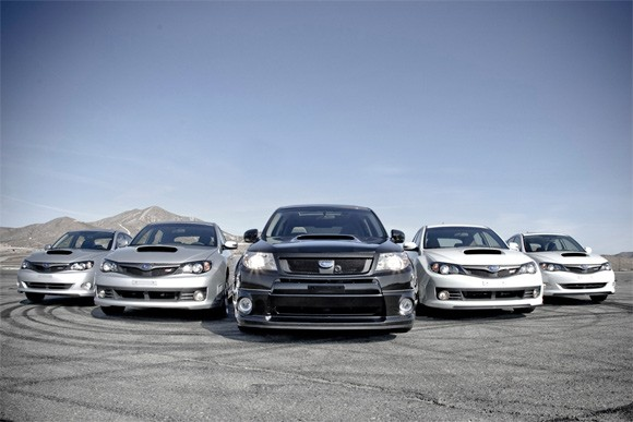 Subaru Forester XTI concept, WRX and STI with SPT mods – Click above