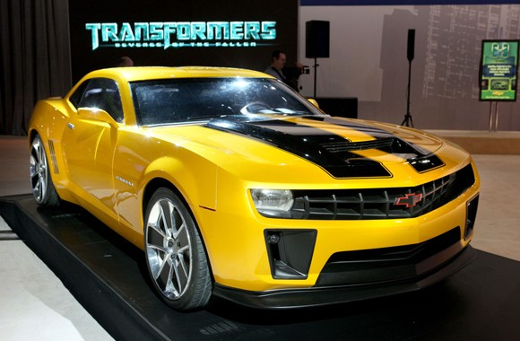 It shows bumblebee in an