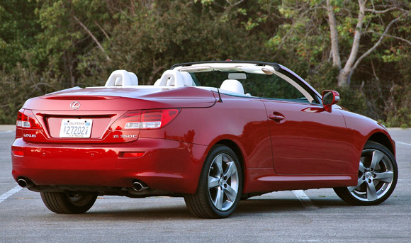 First Drive: 2010 Lexus IS250 C and IS350 C prove that going topless ...