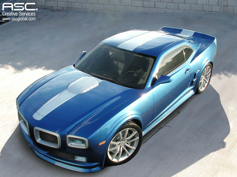 ASC May Offer Pontiac Firebird Conversion for the New Camaro ...