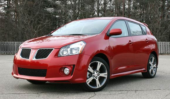 Pontiac Vibe GT - Click above for high-res image gallery