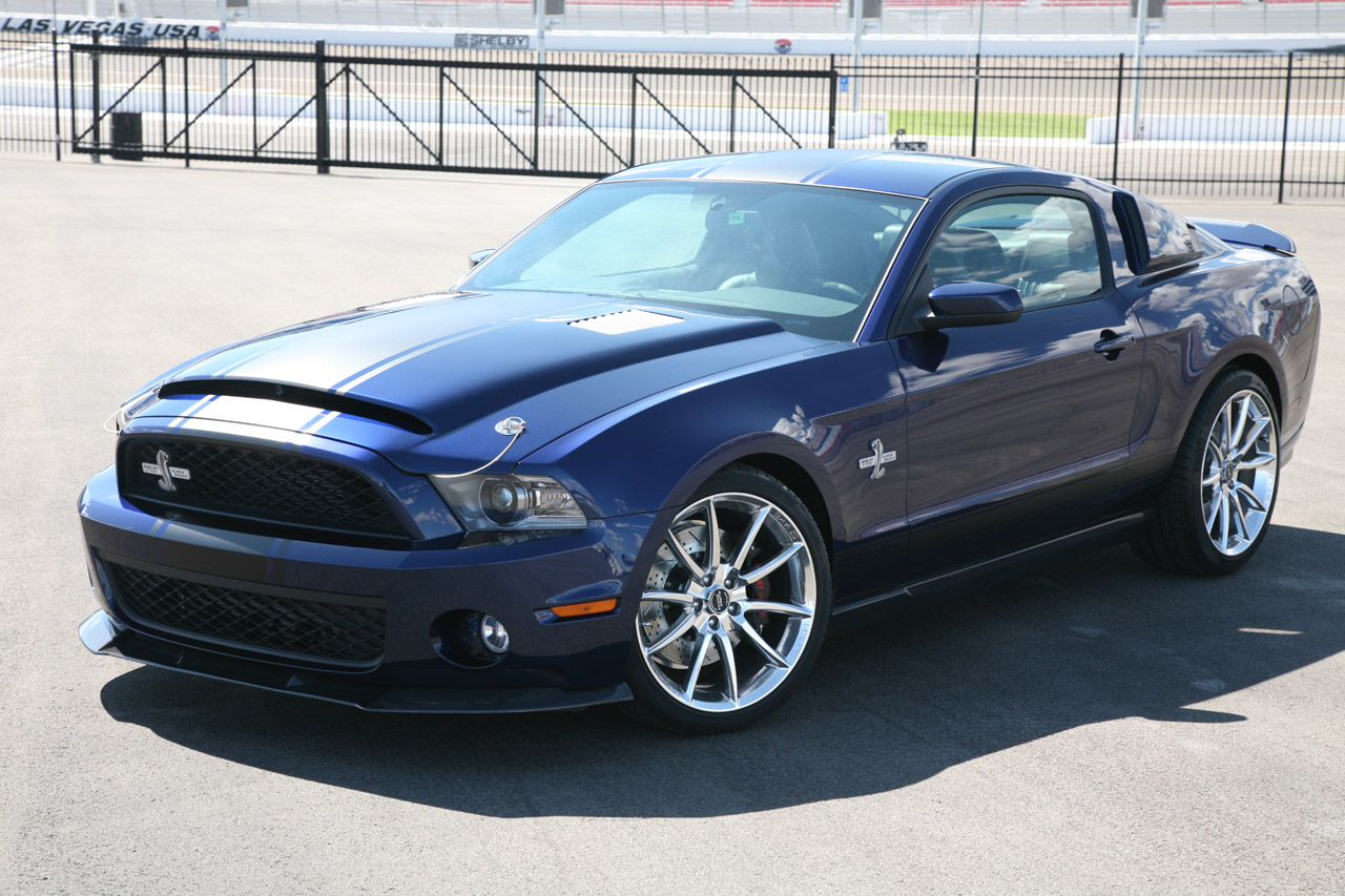Shelby Unveils New Super Snake Mustang Packages