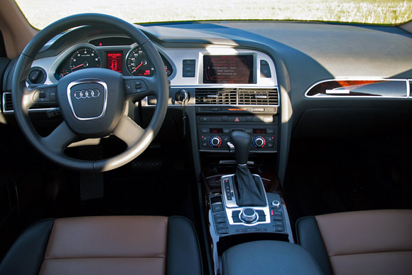 Review 2009 Audi A6 3 0t Suits High Speed Cruising To A T Or Is