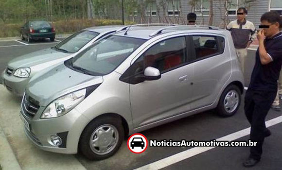 Spy Shots: Chevy Spark speckled as Daewoo Matiz