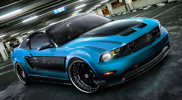 grabber blue 2011 mustang. Reed Speed 2010 Ford Mustang