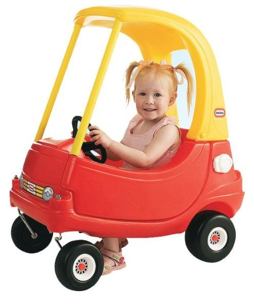 Your little future police officer can cruise around the house and yard on the Little Tikes 30th anniversary edition patrol car. It's designed just like the real deal with cop logos on the sides and front.