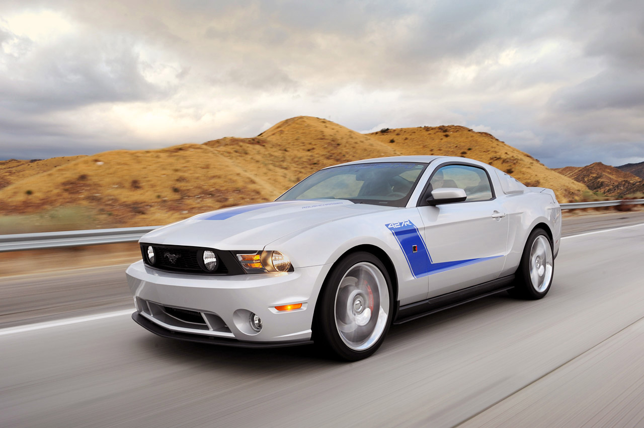 2010 ford mustang roush 427r dark cars wallpapers. Black Bedroom Furniture Sets. Home Design Ideas