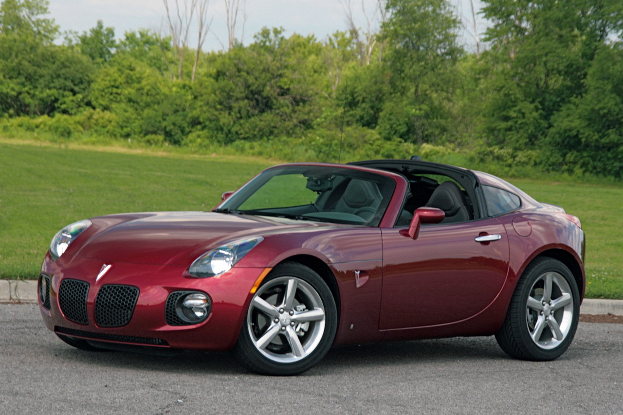 Review 2009 Pontiac Solstice Gxp Coupe Photo Gallery