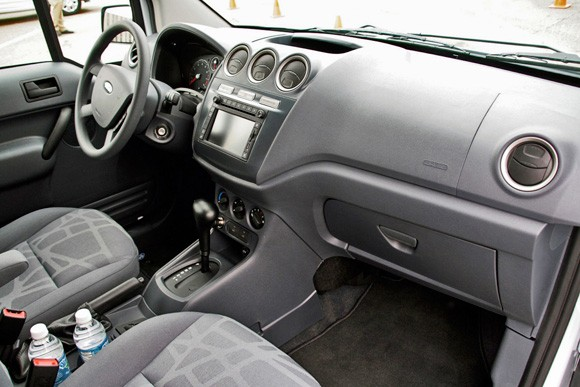 First Drive 2010 Ford Transit Connect the right size for a